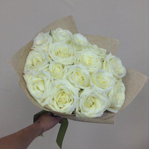 Белые сны: букеты цветов на заказ Flowwow