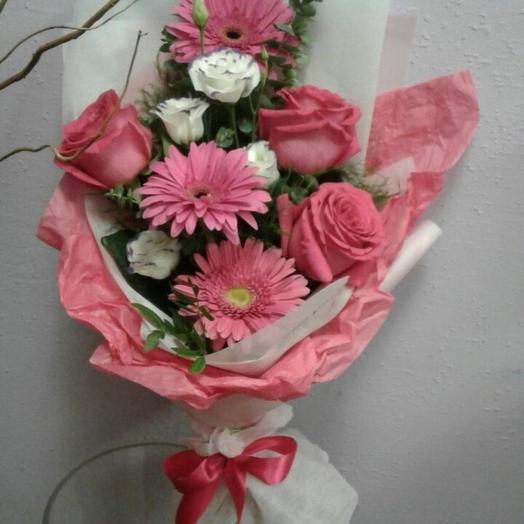 Розовый каприз: букеты цветов на заказ Flowwow