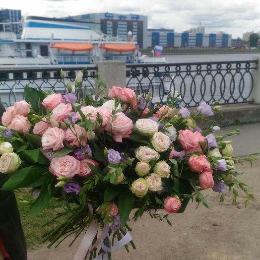 Букет 001: букеты цветов на заказ Flowwow