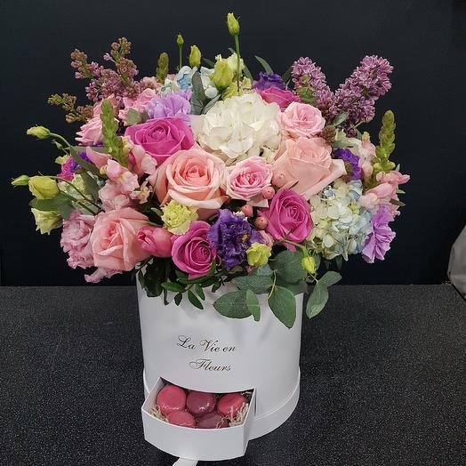 Шикарная коробка: букеты цветов на заказ Flowwow