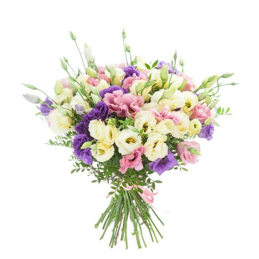 Миксовая эустома: букеты цветов на заказ Flowwow