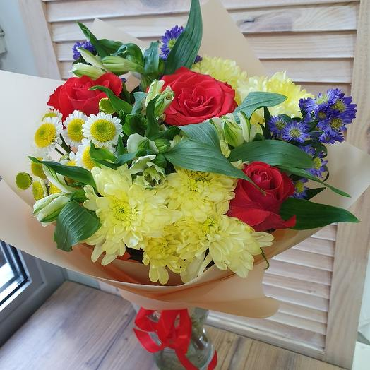 Солнечные астры: букеты цветов на заказ Flowwow