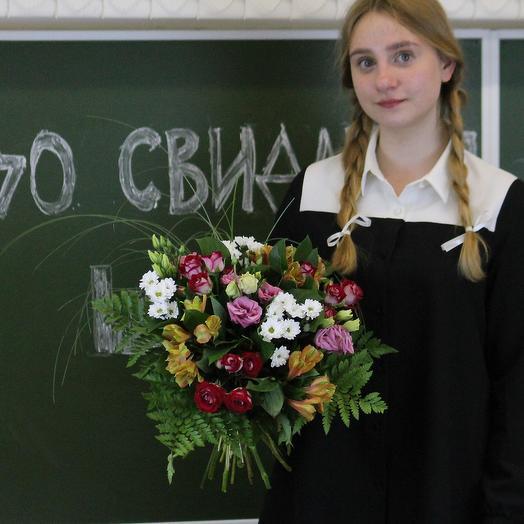 Букет для преподавателя 8: букеты цветов на заказ Flowwow