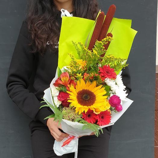 Солнечный привет: букеты цветов на заказ Flowwow