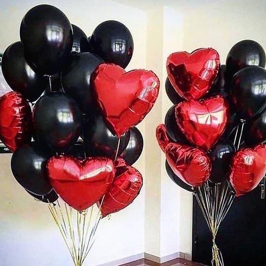 Фонтан из шаров: букеты цветов на заказ Flowwow