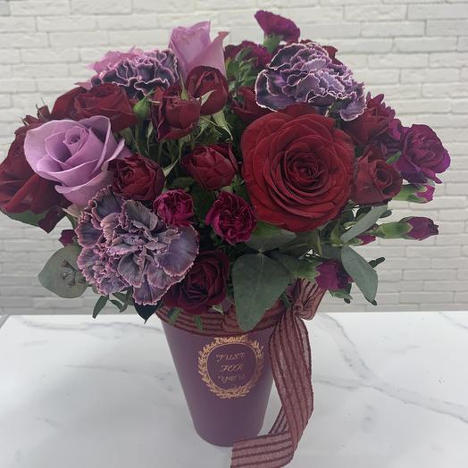 Лунная композиция: букеты цветов на заказ Flowwow