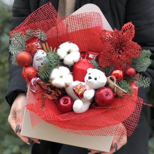 A letter from Santa Claus: flowers to order Flowwow