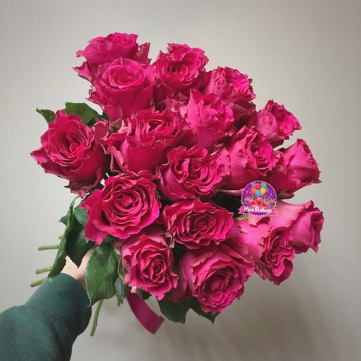 Букет роз «Фуксия»: букеты цветов на заказ Flowwow