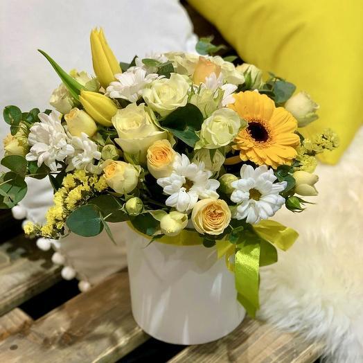 Композиция «Лимонный фреш»: букеты цветов на заказ Flowwow