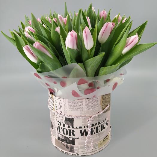 Розовые грёзы: букеты цветов на заказ Flowwow