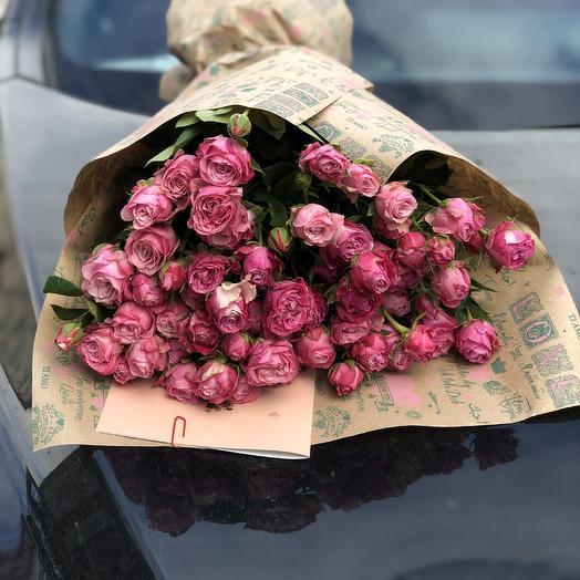 """Букет роз """"Розовое наваждение"""""""