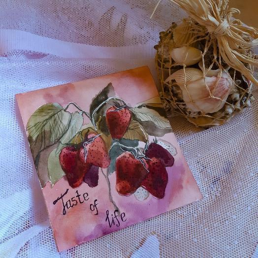 """Открытка """"Вкус жизни"""": букеты цветов на заказ Flowwow"""