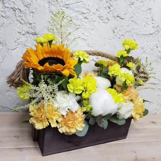 Комплимент садовника: букеты цветов на заказ Flowwow