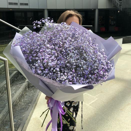 Сиреневое настроение🌂: букеты цветов на заказ Flowwow