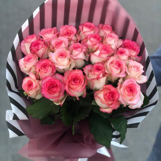 Букет из 31 Эквадорской Розы
