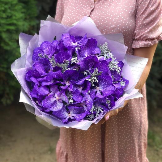 Букет «Орхидея Ванда»