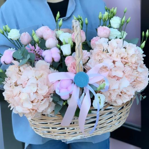 Цветочное лукошко💕