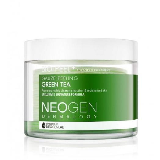 Пилинг-диски с экстрактом зеленого чая Neogen Dermalogy Bio-Peel Gauze Peeling Green Tea