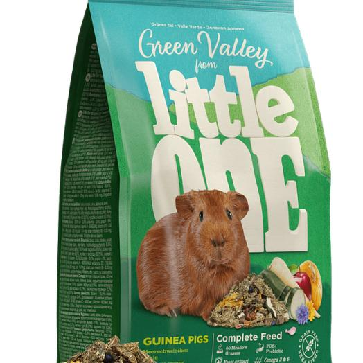 Little One Зеленая долина корм для морских свинок разнотравье 750 г