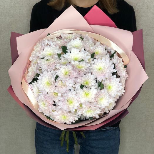 Букет из кустовых хризантем 2
