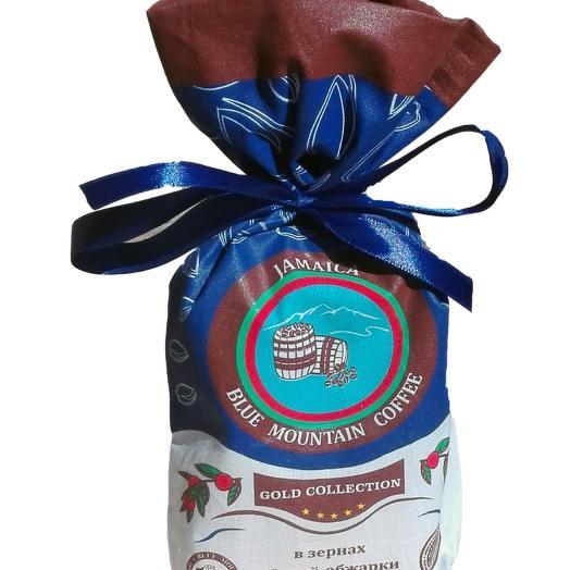 Кофе Jamaica Blue Mountain Gold Collection в зёрнах, тёмной обжарки, 200 гр