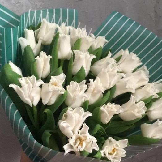 Тюльпаны поцелуйчики