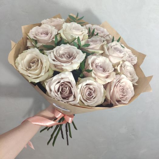 Моно из винтажных роз