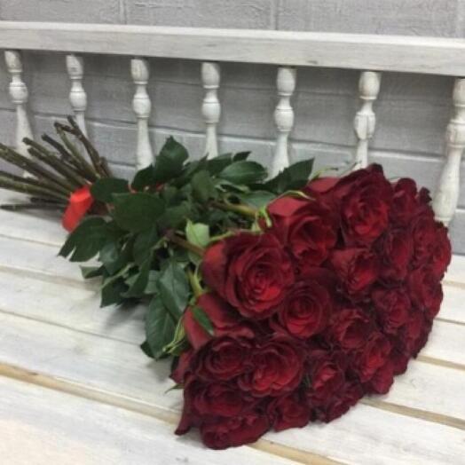 Букет из 25 роз Эксплорер Премиум