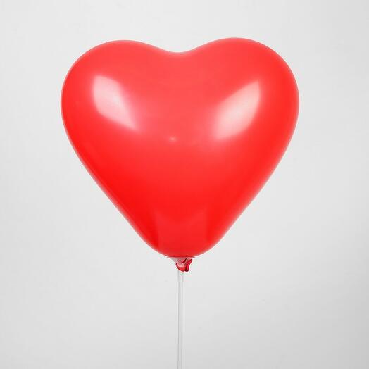 Шар сердце красное