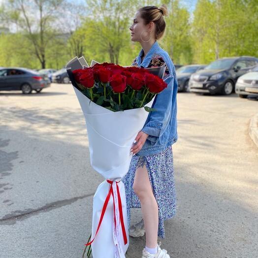 Высокие розы 120 см