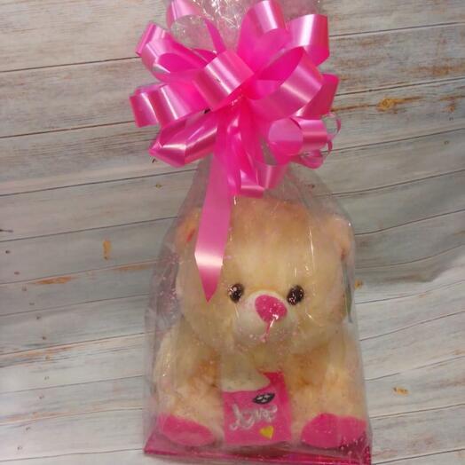 Мишка в розовом
