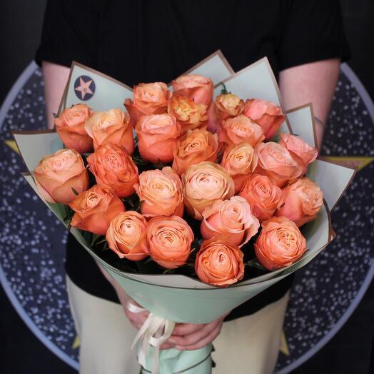25 пионовидных роз. Kahala