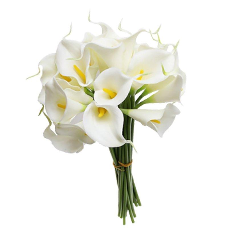 Букет из 9 белых калл: букеты цветов на заказ Flowwow